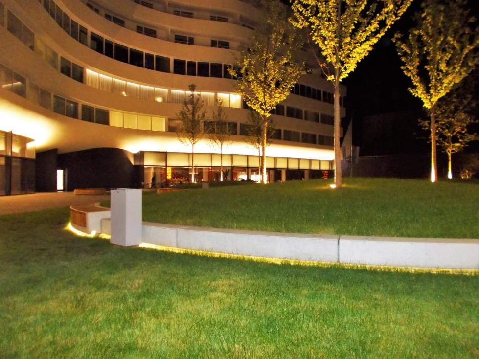 Patio W Double Tree by Hilton Wrocław zdj. Latek Hotels
